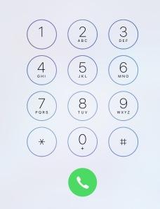 iphonekeypad